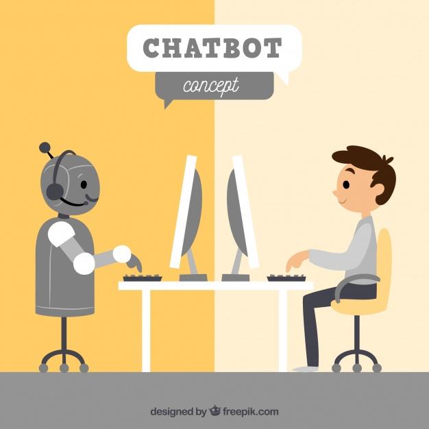 fondo-de-concepto-chatbot-con-robot-y-chico_23-2147828709