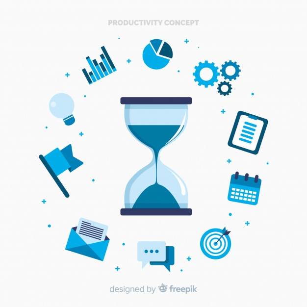 concepto-moderno-productividad-diseno-plano_23-2147976974